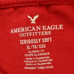 American Eagle Outfitters Shirts - BOGO Men's American Eagle Red Graphic Tee